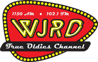 102.1 FM WJRD logo - Tuscaloosa True Oldies channel radio